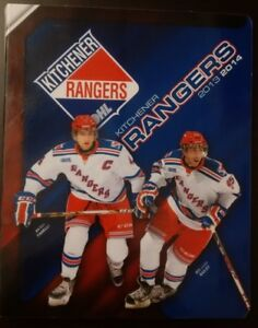 2013 - 2014 CHL / OHL Kitchener Rangers Signature Team Set Album