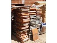 reclaimed used roof tiles approx 250 free to collector but must take them all