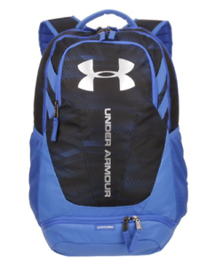 5ab2efd2a732 Under Armour UA Hustle 3.0 Blue Water Resistant Backpack Storm 1294720