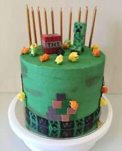 Minecraft Birthday Cake - Custom made: Greystanes Parramatta Area Preview