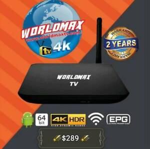 WORLDMAX 4K INDIAN IPTV TV BOX PAKISTANI HINDI BENGLA PUNJABI FI Doveton Casey Area Preview