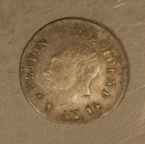 1817 Haiti 25 Centimes 1 Year Type Coin Strong Details  ** FREE U.S. SHIPPING **