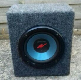 Kenwood subwoofer with fusion amp £20