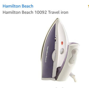 TRAVEL IRON/STEAMER