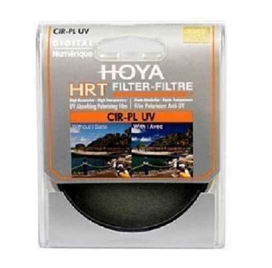 Hoya HRT 58mm Circular Polarizing + UV Filter, London