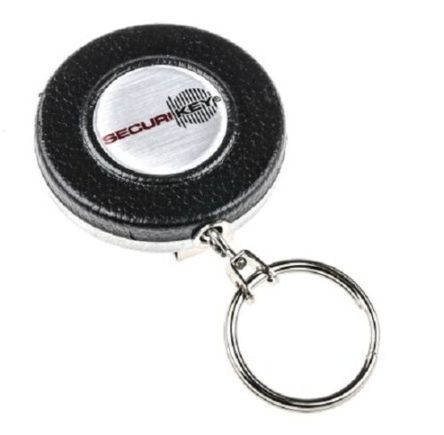 Securikey RETRACTABLE KEY CHAIN Steel Casing With Stainless Steel Chain*UK Brand
