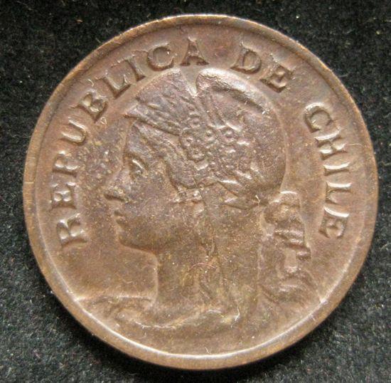 Chile Centavo 1904 XF-AU #91