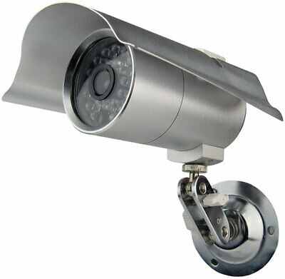 Pyle Indoor/Outdoor Security Camera with 65 Foot Night Vision, 1/4