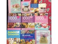 11x RECIPE BOOKS
