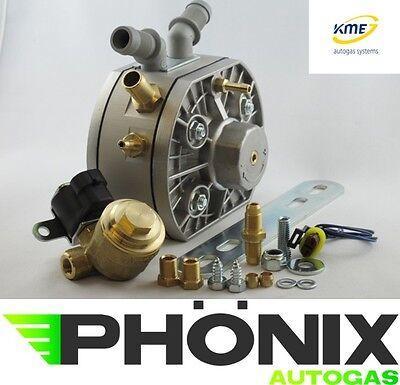 KME Autogas Verdampfer Silber S6 bis 150kw Komplettset inkl. Abschaltventil LPG
