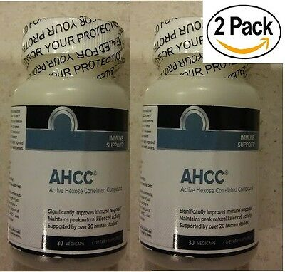 - 2 Active Hexose Correlated Compound AHCC 500mg IMMUNE SYSTEM BOOSTER EXP: 2022