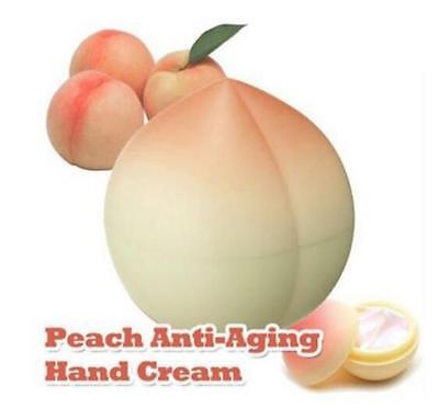 Creative Korea Designed Anti-Aging Peach Hand Cream 30ml 30g