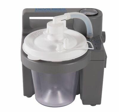 Devilbiss Medical Portable Suction Aspirator Vacuum Pump 7305p-d Wrhm