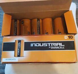 15 x D size Duracell Batteries