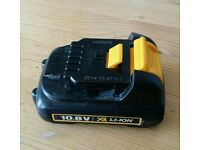 Dewalt DCB125 10.8v XR Battery