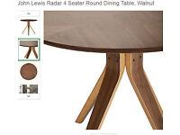 John Lewis Radar 4 Seater Dining Table