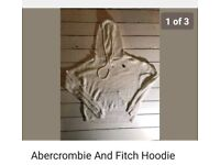 Abercrombie & fitch woolie hoodie size S
