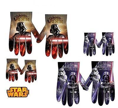 Star Wars Handschuhe Kinderhandschuhe Fingerhandschuhe 3-8 J. Kinder Darth Vader