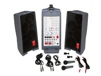 Complete Sound System .A high-quality, portable, complete PA package.