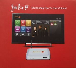 Jadoo TV 4 Q * Quad Core * With Android Box all in one *