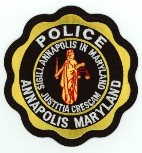 MARYLAND MD ANNAPOLIS POLICE NEW PATCH SHERIFF
