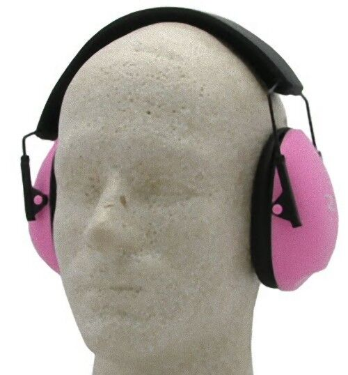 Radians Clam Shell Earmuffs Pink - NRR 21 - Pink Ear Muffs