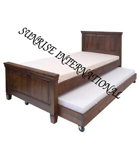 Modern Wooden Sofa Bed : Details about Contemporary Wooden Sofa bed !!