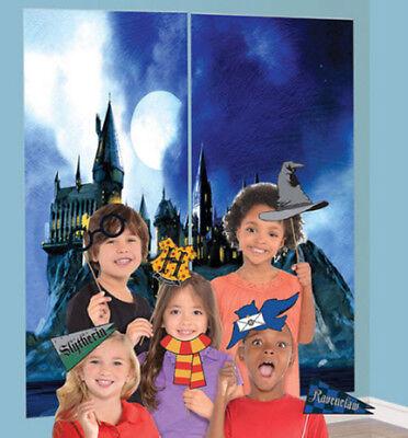 HARRY POTTER Scene Setter party kit w/13 photo booth props HOGWARTS Gryffindor