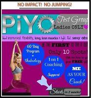 Pilates/Yoga + Free Coaching = Results & fun!!