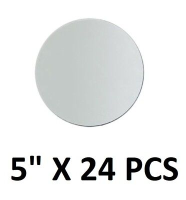 5 inch small round craft mirrors bulk