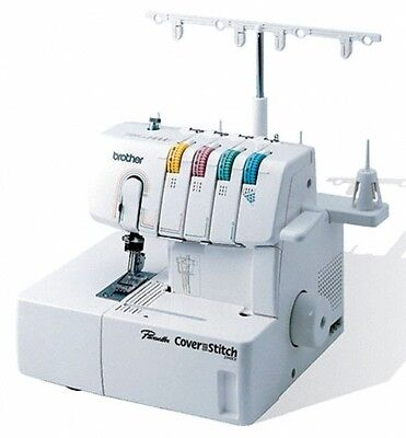 Brother 2340Cv 2   3 Needle Coverhem Cover Stitch Machine 4 Thread New