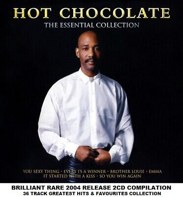Hot Chocolate - The Very Best Essential Greatest Hits Collection 2CD Errol Brown