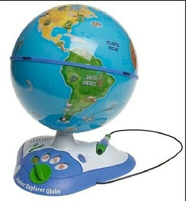 Junior Explorer Interactive Globe by LeapFrog Toys.