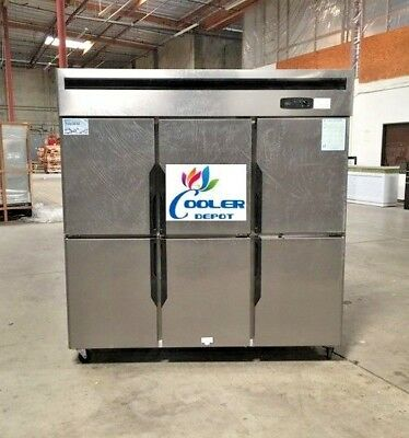Six Door Freezer Rf46refrigerated Cooler Restaurant Equipmentcommercial
