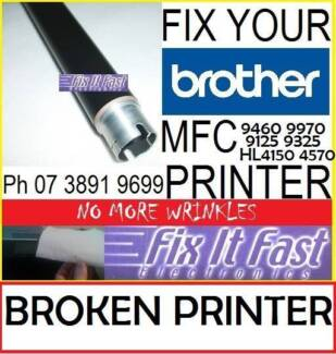 Brother MFC-9340cdw******9140 TN251 TN255 Roller to Fix Wrinkling