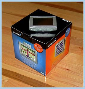 Garmin Nuvi 350 GPS complete in box