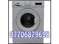 Bush washing machine like new 8kg can deliver