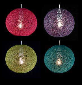 abaca rattan ball pendant shade 2 colours light fitting. Black Bedroom Furniture Sets. Home Design Ideas