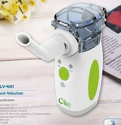 Olv Portable Replaceable Battery Ultrasonic Nebulizer For Asthma And Copd Sale 1