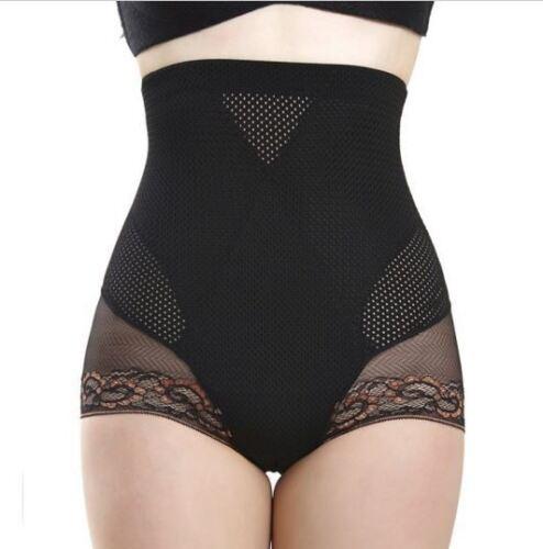 Waist-Trainer-Black-Womens-Stomach-Control-Shapewear-Butt-Lifter-Corset-New