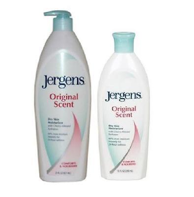 Jergens Original Scent Dry Skin Moisturiser Pump 21oz & 10oz