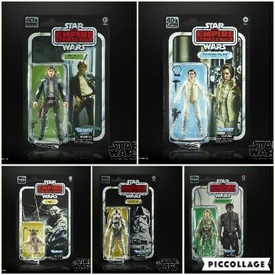 Star Wars Black Series 40th Anniversary Wave 1: Set of 5 (Empire Strikes Back)