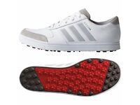 Adidas Adicross Gripmore 2 Mens Golf Shoes White/Onix/Red 10UK
