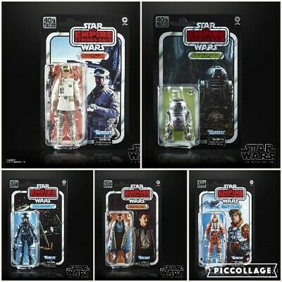 Star Wars Black Series 40th Anniversary Wave 2: Set of 5