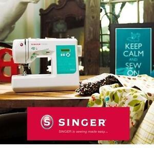 NEW SINGER STYLIST SEWING MACHINE 100-STITCH COMPUTERIZED W/ 10 PRESSER FEET  METAL FRAME 103330265