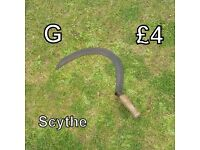 Gardening Tools (G) - Scythe