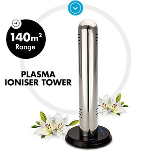 NEW SIMTECH Ionic Home Air Purifier Filter Tower Plasma Ion Office Room Ioniser
