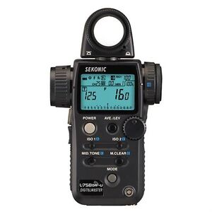 SEKONIC Light Meter L-758dr Digital Master (Perfect Condition)