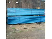 JOBLOT STOW pallet racking excellent condition ( pallet racking , industrial storage )