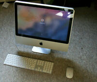 iMac 7,1 / Dual Core 2.4 GHz CPU / 6GB Ram / 500GB Hard drive